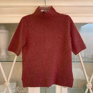 Adrienne Vittadini Mock Turtleneck Sweater Size M